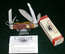 Camillus C4 Survival Camping Knife Scout Pattern 30-06 Shield W/Packaging,Papers