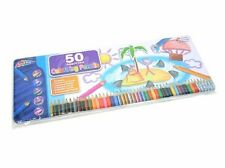 Children Tin 50 Colour Drawing Sketching Pencils Metallic Rainbow Great Gift T50