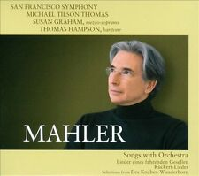 NEW Mahler: Songs With Orchestra Super Audio Hybrid Cd CD (CD) Free P&H