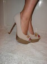 NEW 2B BEBE  GOLDUST VITTI PUMPS SHOES  SIZE 9  Comfort meets high-style glam!!!