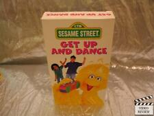 Sesame Street - Get Up and Dance (VHS, 1997)