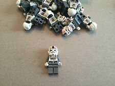 Lego Star Wars AT-AT DRIVER minifig minifigure Hoth clone 8129 - Grey Pants
