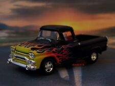 HOT ROD 1958 58 GMC FLEETSIDE PICKUP TRUCK 1/64 SCALE DIECAST MODEL - DIORAMA