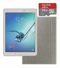 "Samsung Galaxy Tab S2 8"" Gold 32GB Bundle - Smart Cover & 32GB MicroSDHC SM-T710"