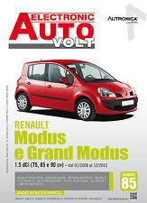 Manuale Diagnosi elettrica ed elettronica auto - Renault Modus e Grand Modus