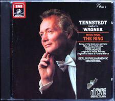 TENNSTEDT: WAGNER Musik aus Der Ring des Nibelungen CD Das Rheingold Die Walküre