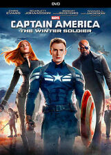 Captain America: The Winter Soldier (DVD, 2014) Marvel - Chris Evans