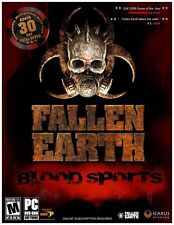 Fallen Earth Blood Sports PC Game Window 10 8 7 Vista XP Computer online rpg fps