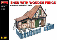 MiniArt 1/35 35556 Shed (WWII Military Building & Diorama)