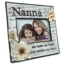 Nanna Gift - Nanna Beautiful Flower Resin Photo Frame NV464