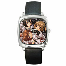 Anime Mitsudomoe Ultimate Leather wrist watch