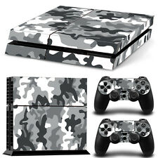 SKIN PS4 PROTECTION DECOR CAMOUFLAGE URBAIN  ARMY AUTOCOLLANT STICKER PS4S004