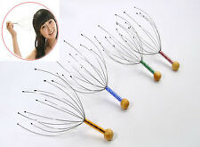 Head Scalp Neck Handy Massage Massager Headache Stress Relief Tension Relaxation