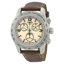 Tissot V8 Steel Chronograph Brown Mens Watch T36.1.316.72