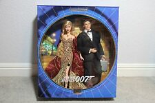 James Bond 007 Ken And Barbie Set 2002 NRFB NEW!!!