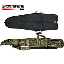 "Outdoor Tactical Camo Gun Case Hunting Soft Padded Gun Storage Bag 53"" Small"