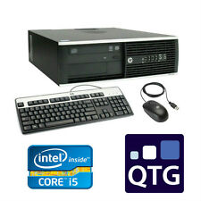 HP Elite 8100 Core I5 3.20 GHz 8GB RAM 250GB HDD DVD-RW Linux Mint SFF Desktop