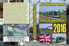 3325. Nottingham. UK. Tram. June 2016. Our long awaited look at the new route to
