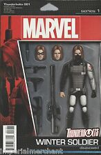 Marvel Thunderbolts comic issue 1 Limited Winter Soldier variant