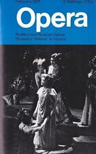 Opera Magazine 1971 Feb : GWYNETH JONES, MARILYN HORNE, THEODOR UPPMANN
