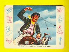 1958 Leaf Cardo Trading Cards #C-6 Cowboys and Indians