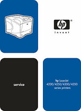 HP LaserJet 4200 / 4250 / 4300 / 4350 Series Service Manual(Parts & Diagrams)