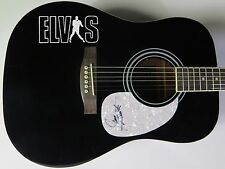 James Burton ELVIS PRESLEY BAND Signed Autograph Guitar   RICKY NELSON