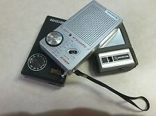 LOT OF 4 VINTAGE TRANSISTOR RADIOS 3 FOR PARTS OR REPURPOSE 1 NIB +*BONUS$LOOK