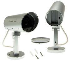 Caméra de surveillance Faux Dummy Détecteur de mouvements Fake Cam IR