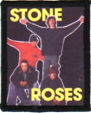 STONE ROSES sew on washable patch