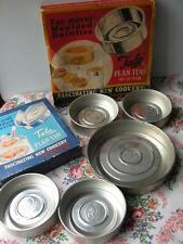 VINTAGE TALA FLAN TINS IN ORGINAL BOXES KITCHENALIA