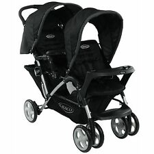 GRACO Stadium Duo Noir / double compact poussette-Oxford