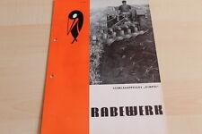 144463) Rabewerk Schälsaatpflug - Gimpel - Prospekt 06/1971