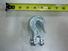 """Trailer Heavy Duty Clevis GRAB Hook 3/8"""" Load Chain Binder 16,000 lb Forged"""