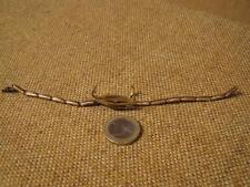 ▀█▀ ██ █▄ █▄ altes Armband für Damentaschenuhr - Doublé -