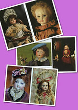 Cartoline Bambole di Porcellana fine 800 vintage 1989 Rare China Dolls Postcards