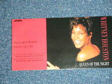 "WHITNEY HOUSTON Japan Only 1993 Tall 3"" CD Single QUEEN OF THE NIGHT"