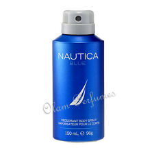 Nautica Blue Deodorant Body Spray For Men 5.0oz 150ml * New *
