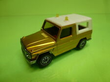 MAJORETTE 1044 MERCEDES BENZ 280 GE - METALLIC YELLOW 1:55? - VG