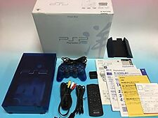 Ps2 Ocean Blue Console Playstation 2 System Japan *NEAR MINT FOR COLLECTION*