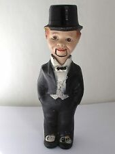 Vintage 1930s Charlie McCarthy Composition Doll w/ Moving Mouth