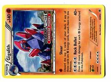 PROMO POKEMON STAFF GIGALITH N° 53/98 HOLO 140 HP BLACK&WHITE EMERGING POWERS