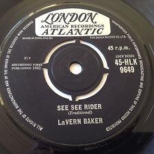 "LaVERN BAKER the Story of My Love / See See Rider UK London HLK-9649 NM VINYL 7"""
