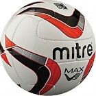 Mitre Max/ Pro Max 2013 Professional Match Football White/Red/Black – Size 4-5