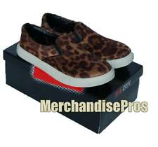 WOMEN'S EMERGENCY EXIT 'LEOPARD' FASHION SLIP-ON SNEAKERS SHOES 7M MEDIUM NEW!