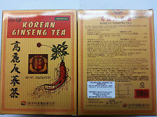 3 boxes korean ginseng tea 50 tea bags/per box total:150 tea bags  @uk seller@