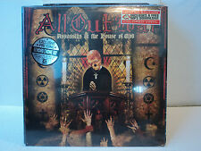 ALL OUT WAR Assassins in the House of God RED VINYL & FREE MP3 Download SEALED