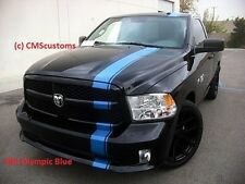Dodge Ram 1500 Truck Mopar 11 Racing Stripes Decals Trunk Hood Graphics 3M Avery
