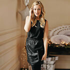 THE WHITE COMPANY Black Sequin Skirt Dress 2in1 Style, Size 12 or 16, BNWT £165