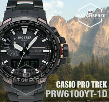 Casio Protrek Triple Sensor PRW-6100 Series Watch PRW6100YT-1D